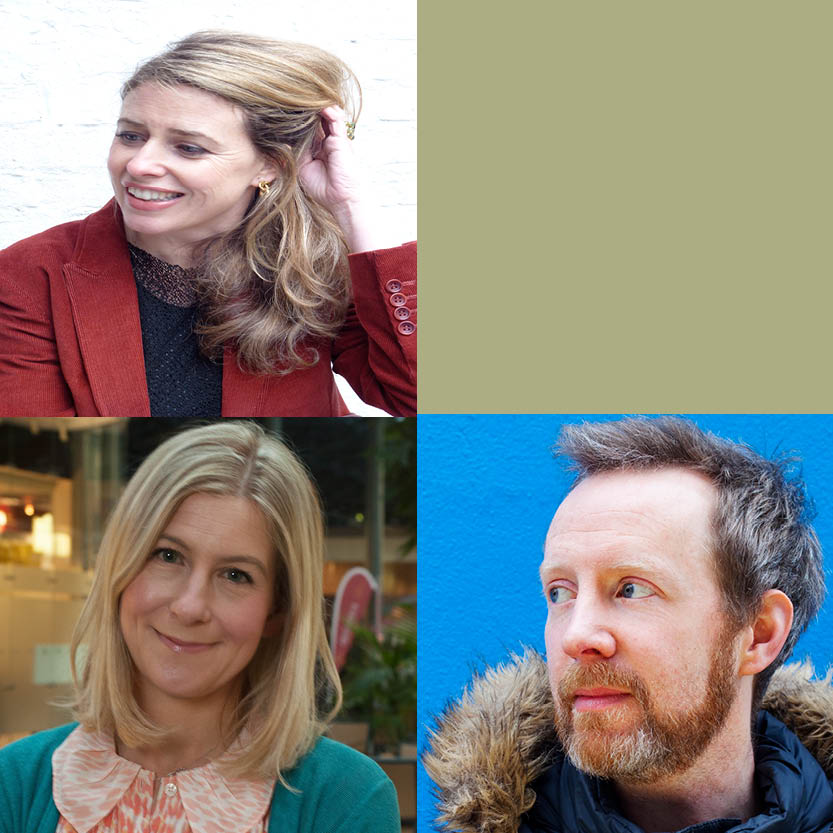 Tutored Fiction Retreat: Amanda Smyth & Paul Murray, Guest: Sarah Bannan
