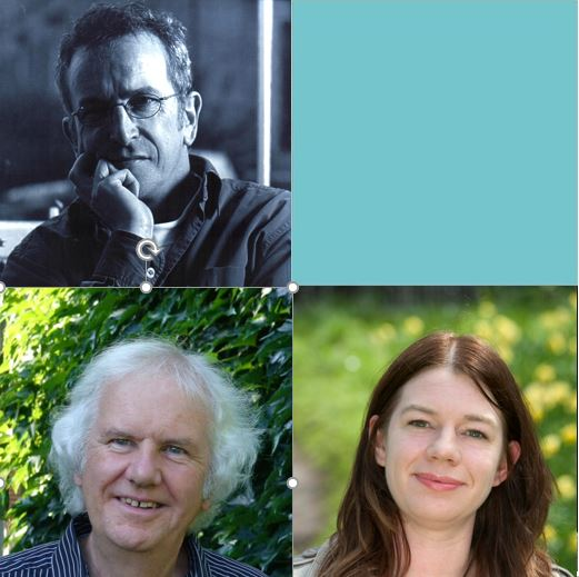 Poetry: Ron Butlin & Brian McCabe, Guest: Miriam Gamble