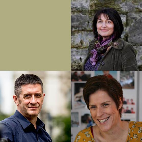 Crime Writing Tutored Retreat: Karen Campbell & Adam LeBor, Guest: Helen FitzGerald