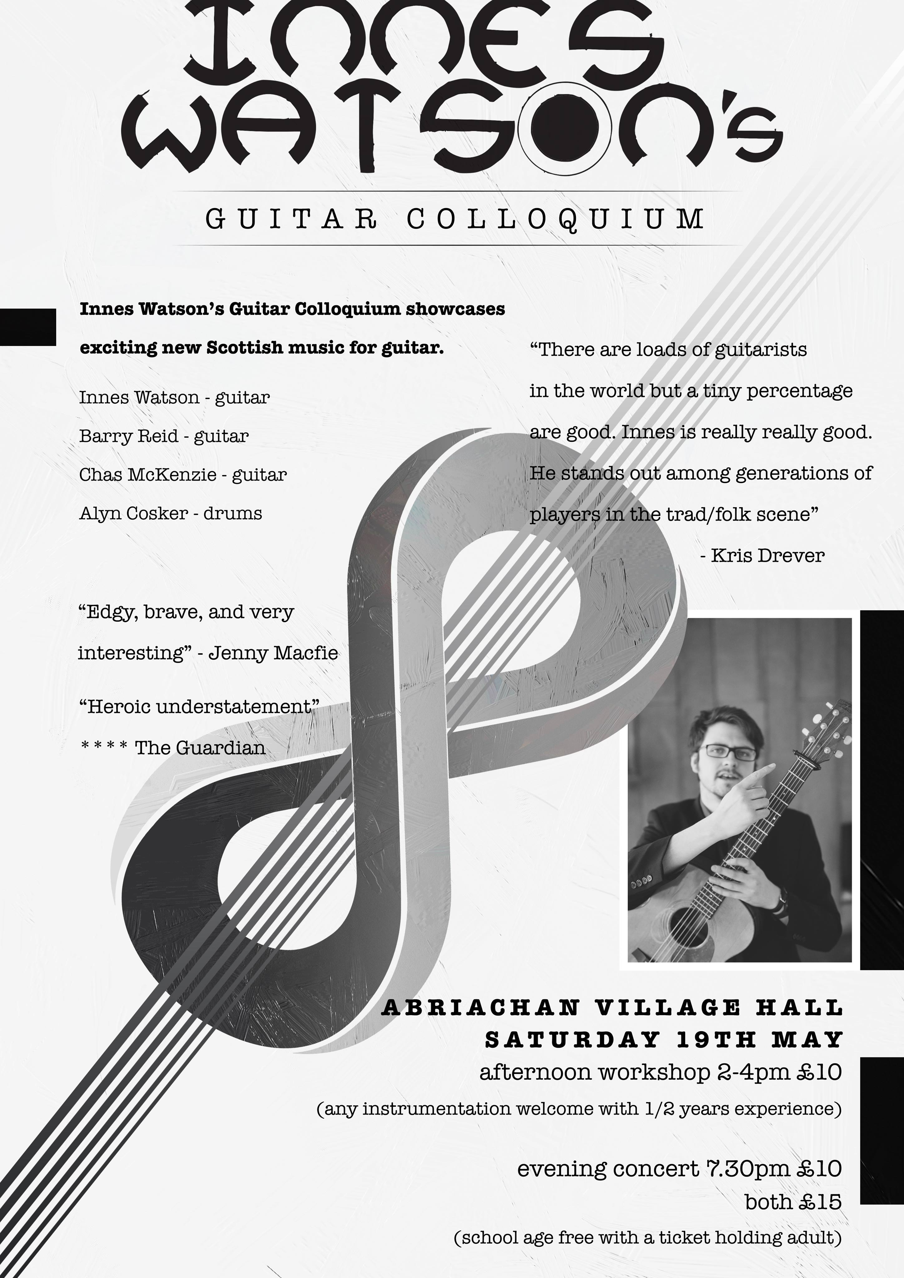 Innes Watson's Guitar Colloquium - Abriachan Village Hall