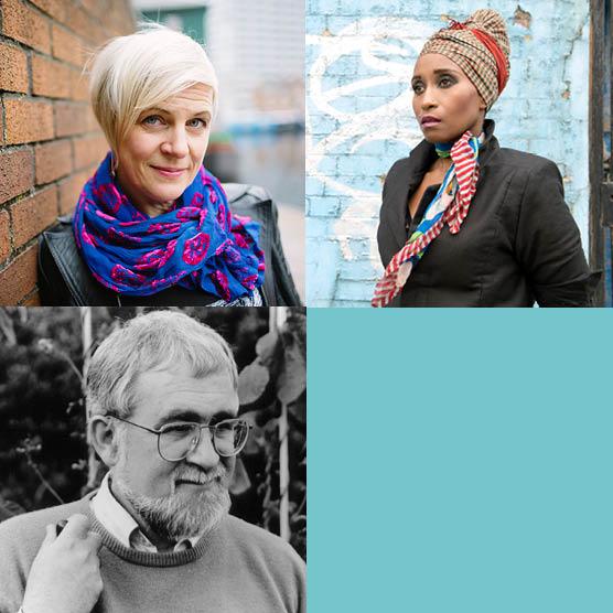 Poetry: Jo Bell & Malika Booker, Guest: Douglas Dunn