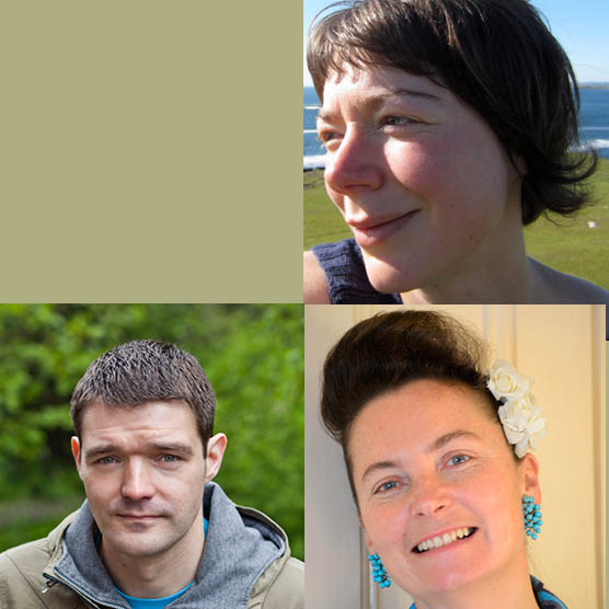 Poetry Tutored Retreat: Jen Hadfield & William Letford, Guest: Katrina Naomi