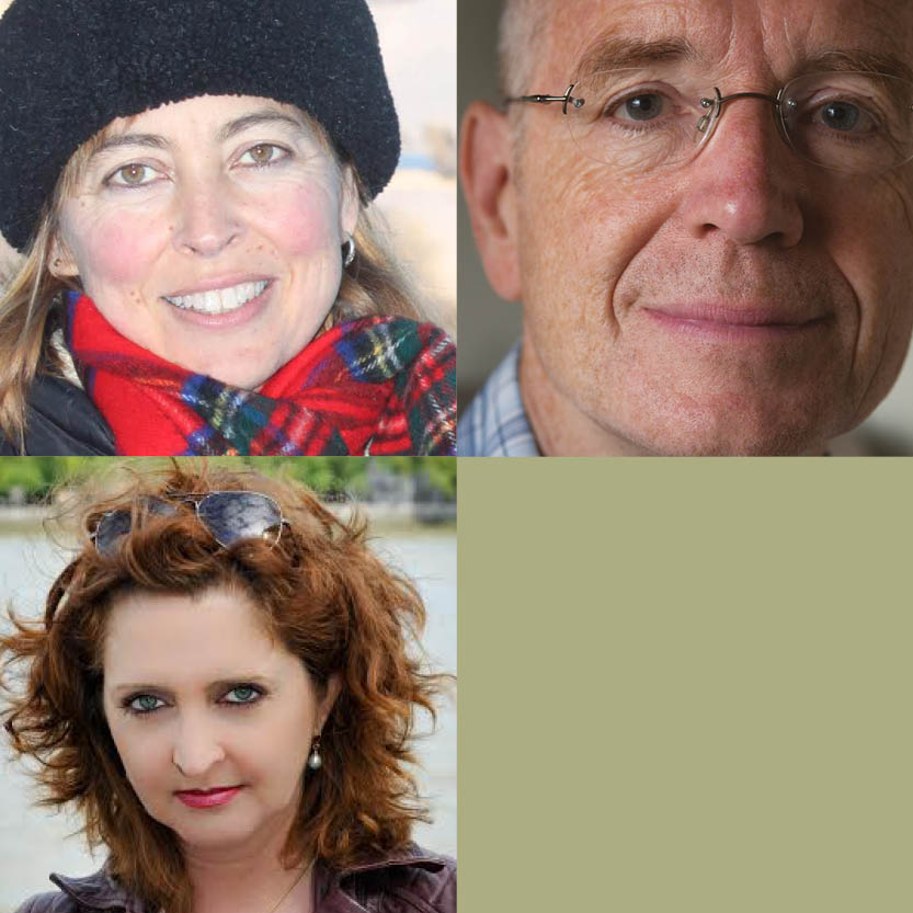 Travel Writing - Jay Griffiths & Rory MacLean, Guest: Katharine Norbury